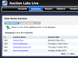 Active Auctions