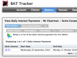 Daily Interest Payments