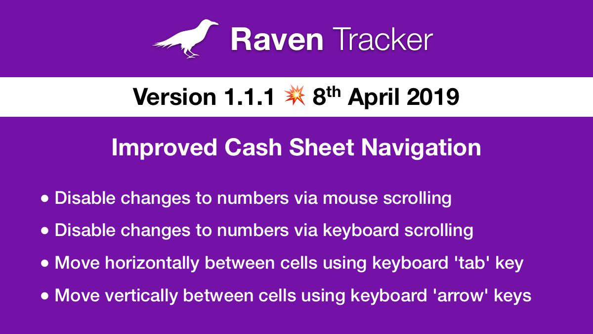 Raven Tracker 1.1.1