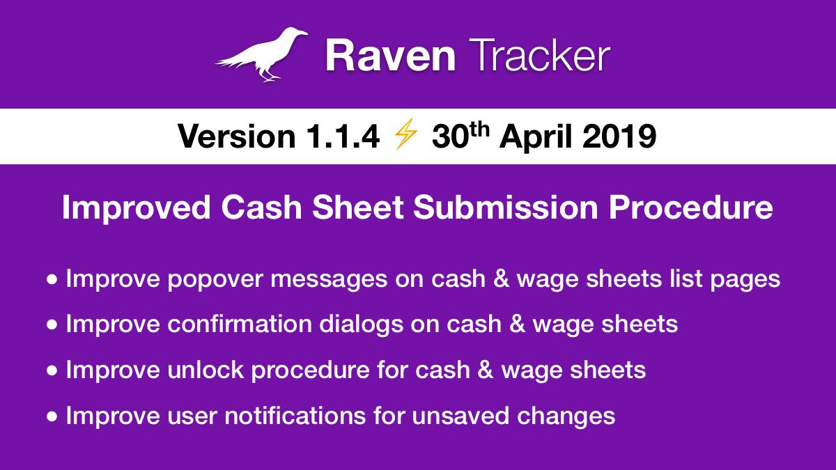 Raven Tracker 1.1.4