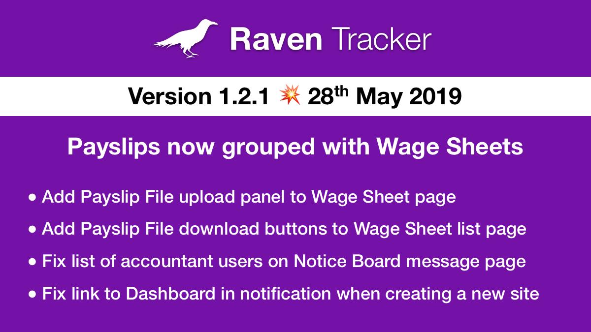 Raven Tracker 1.2.1