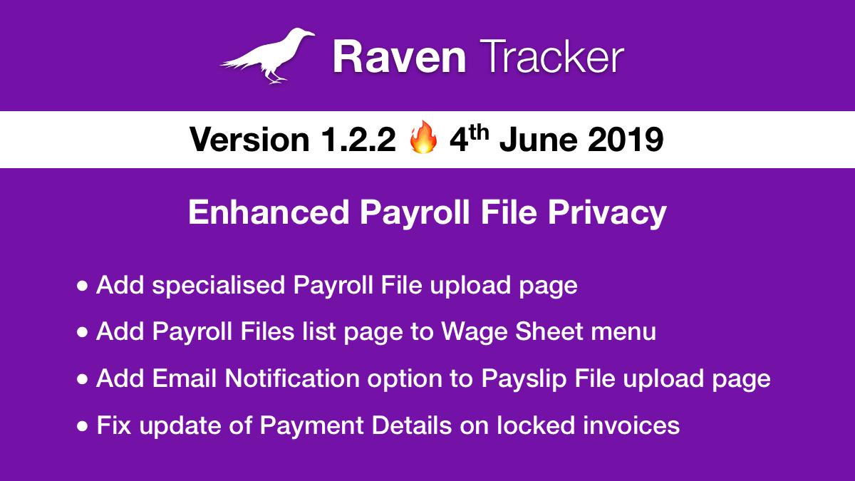Raven Tracker 1.2.2