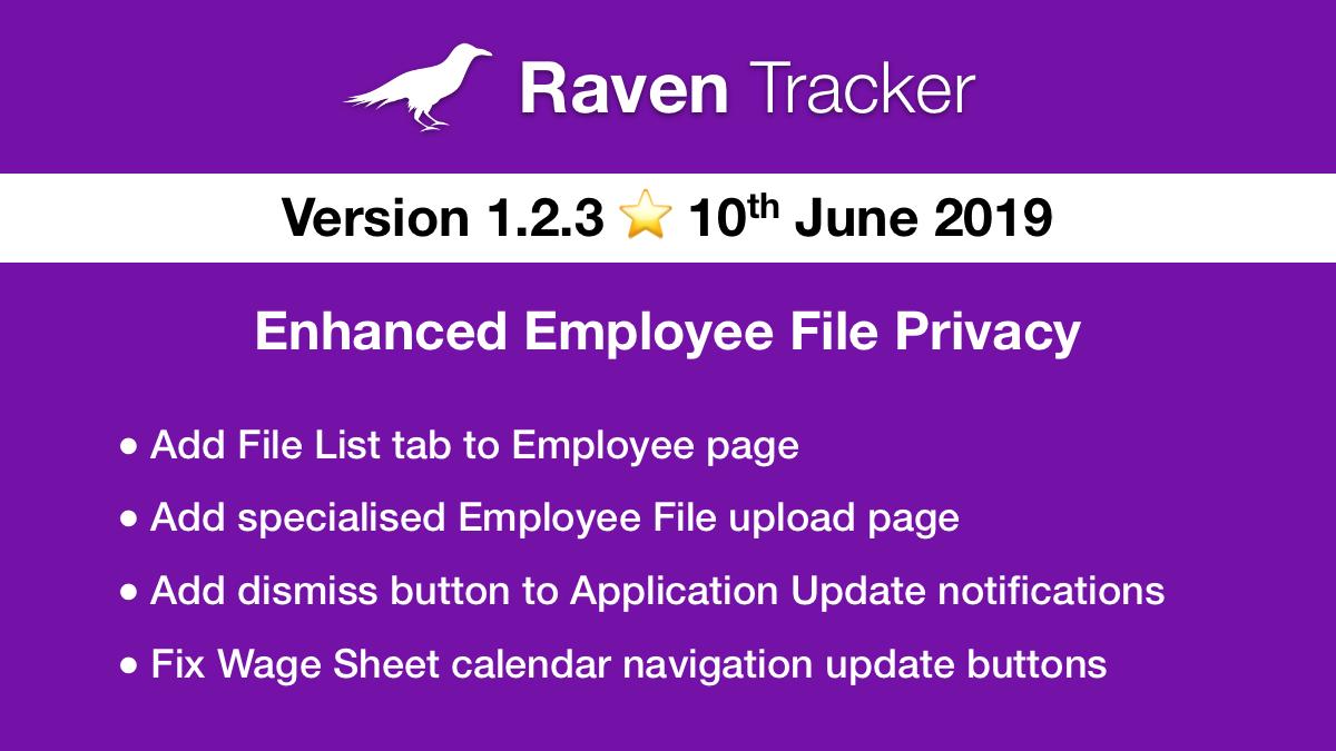 Raven Tracker 1.2.3