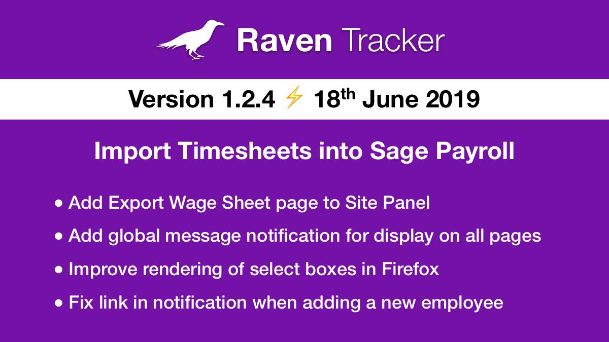 Raven Tracker 1.2.4