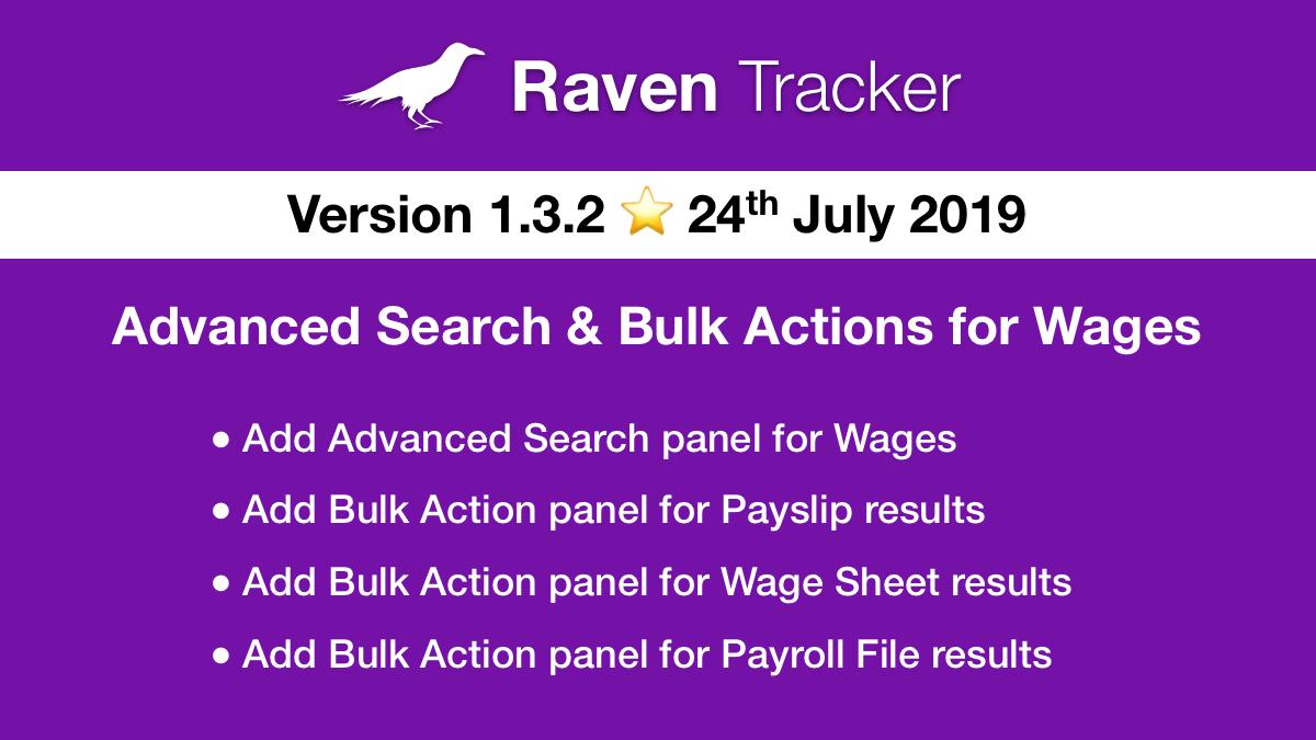 Raven Tracker 1.3.2