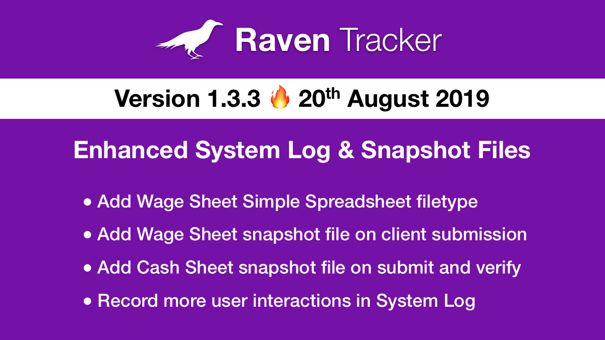 Raven Tracker 1.3.3
