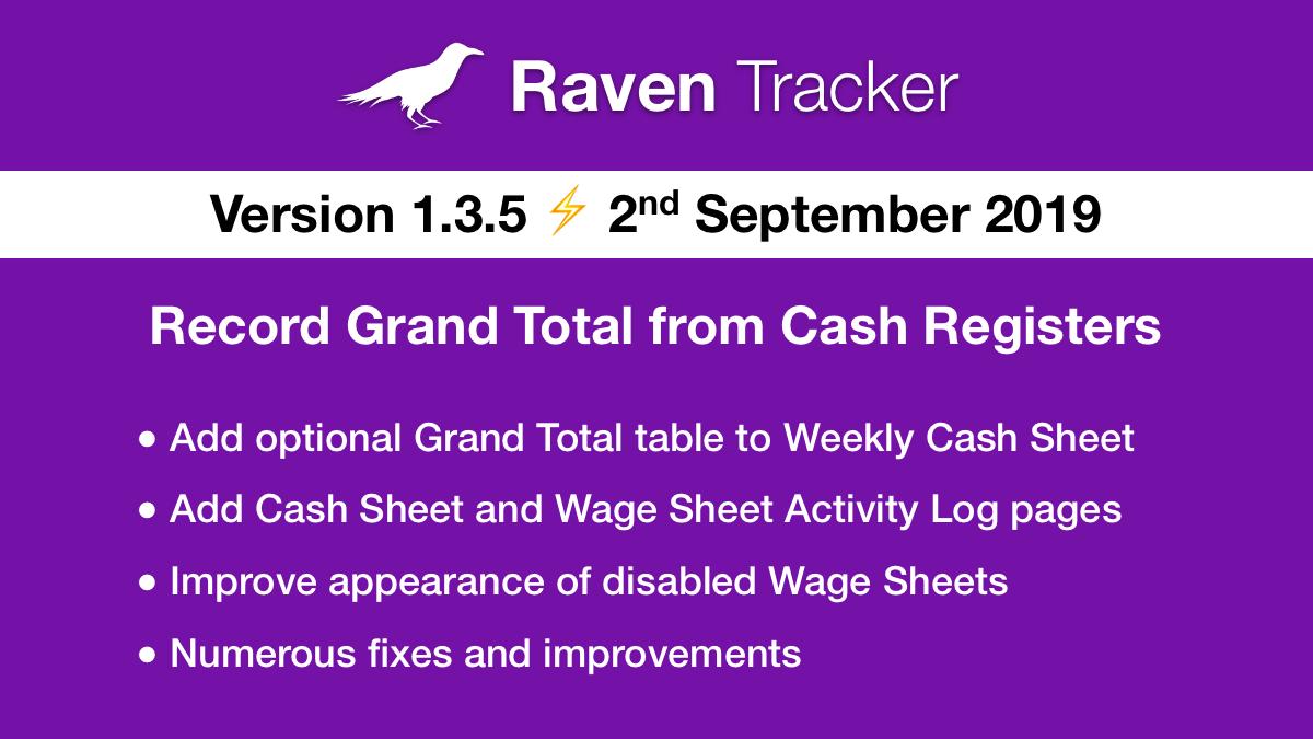 Raven Tracker 1.3.5