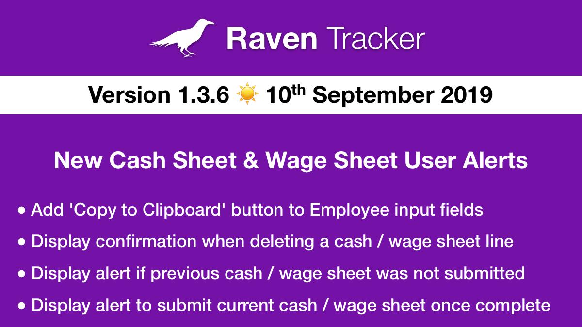 Raven Tracker 1.3.6