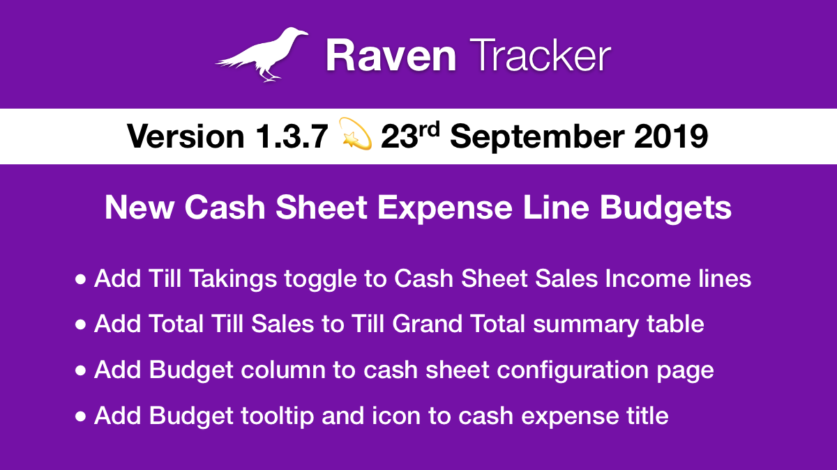 Raven Tracker 1.3.7