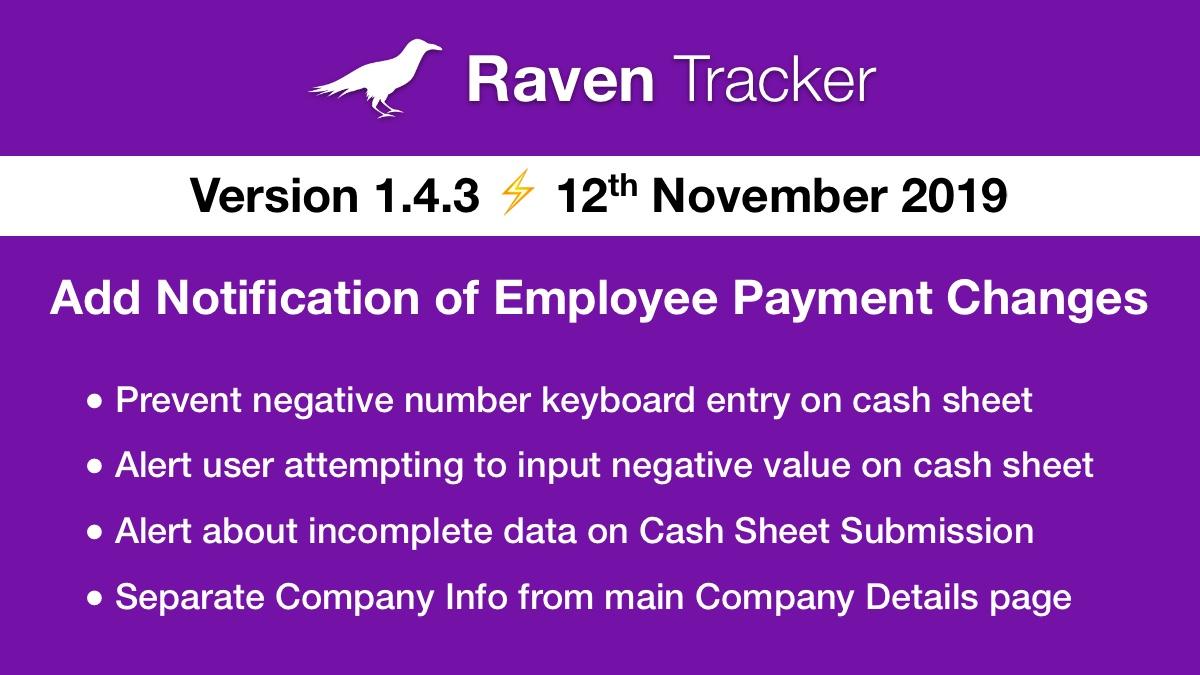 Raven Tracker 1.4.3