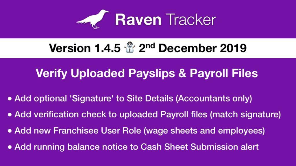 Raven Tracker 1.4.5