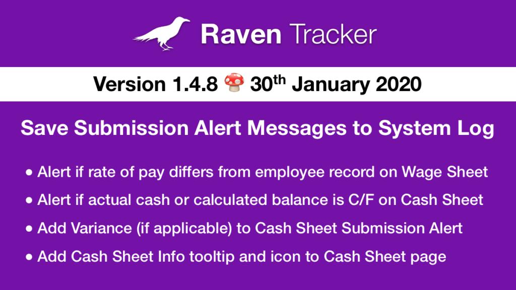 Raven Tracker 1.4.8