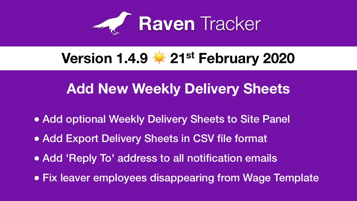 Raven Tracker 1.4.9