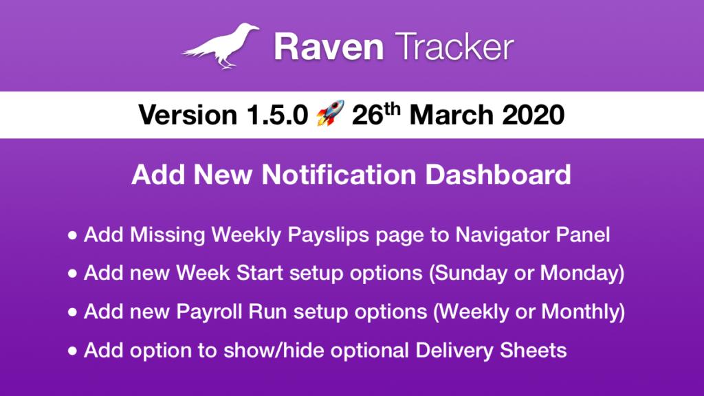 Raven Tracker 1.5.0