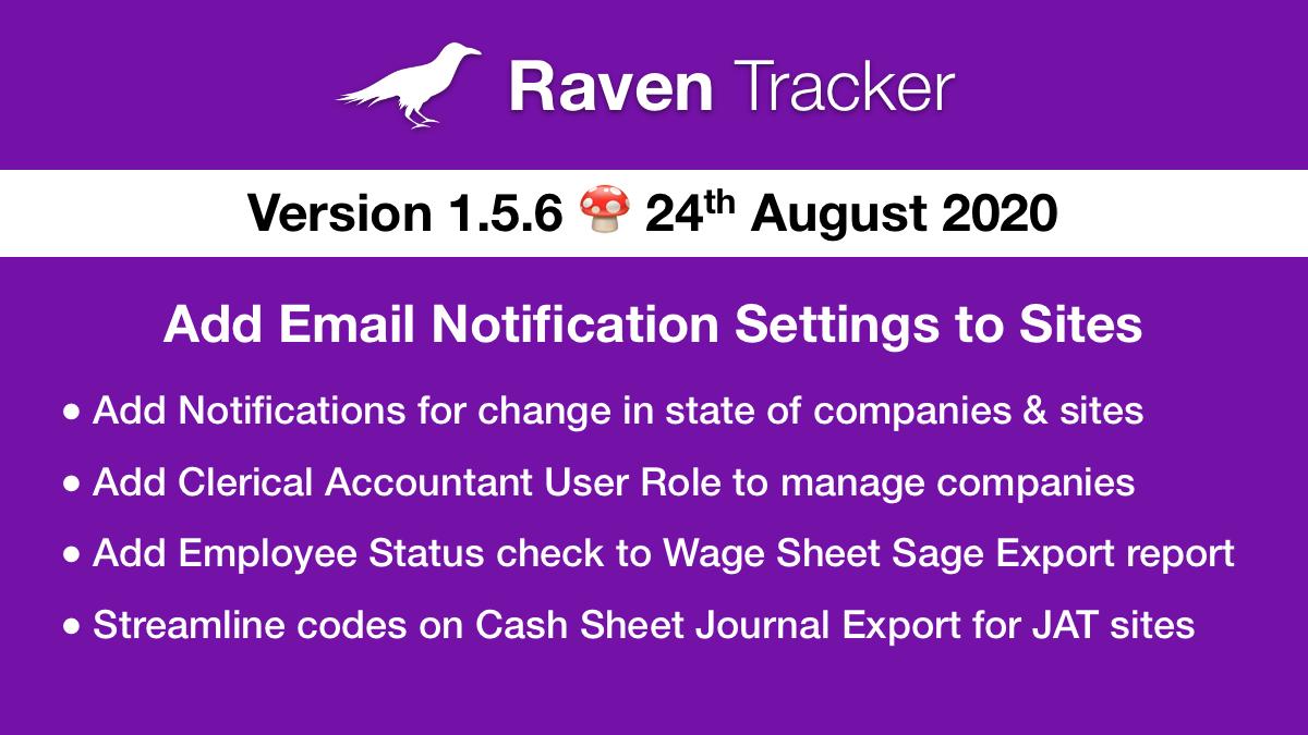 Raven Tracker 1.5.6