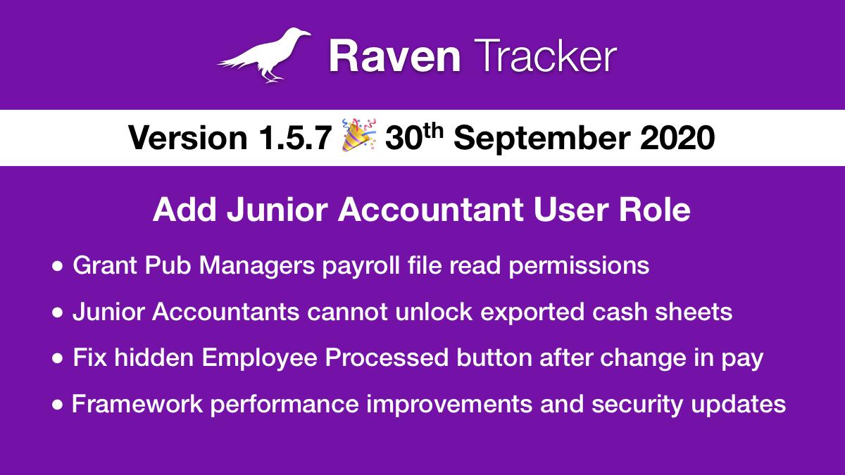 Raven Tracker 1.5.7