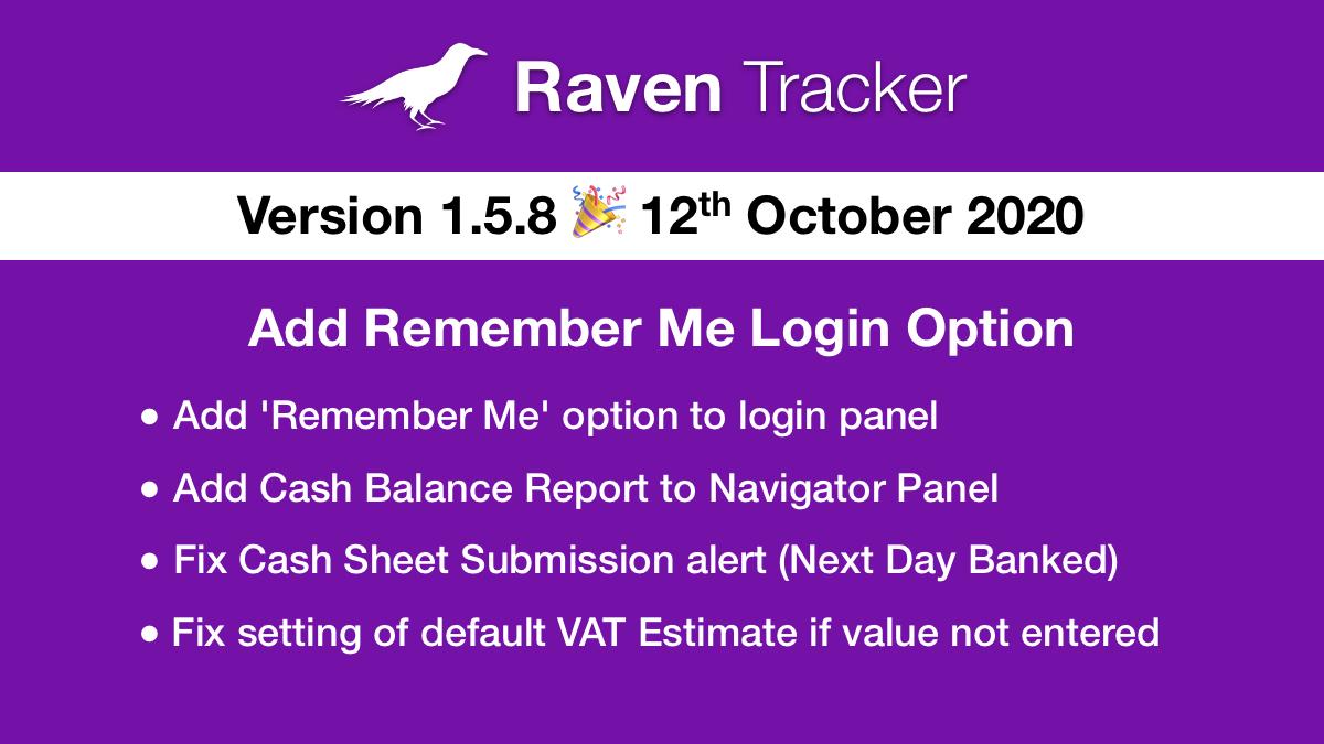 Raven Tracker 1.5.8