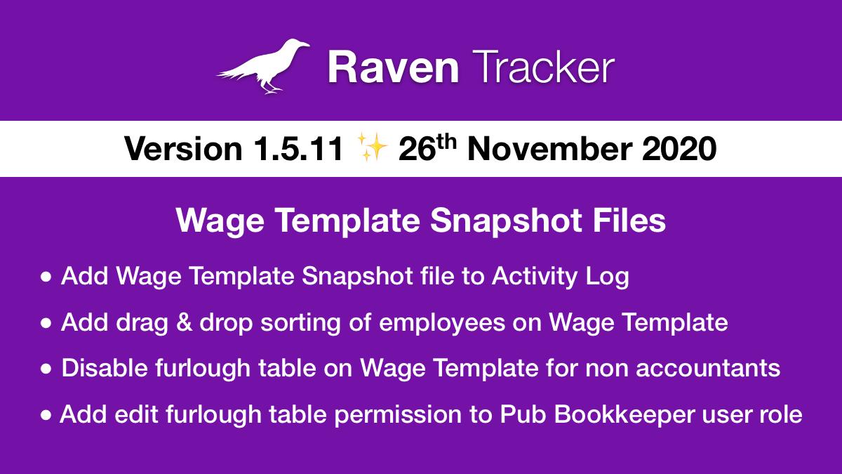 Raven Tracker 1.5.11