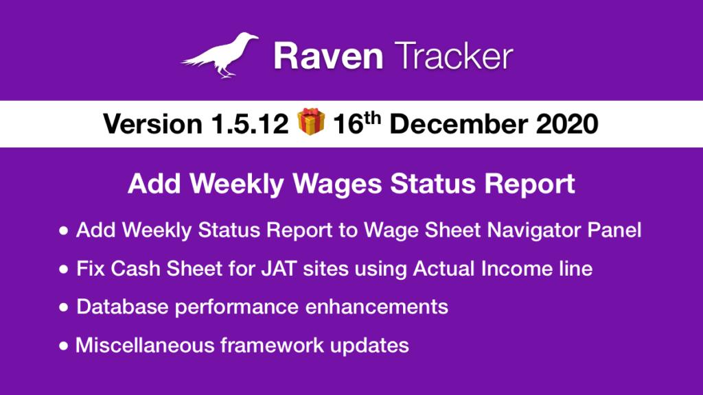 Raven Tracker 1.5.12