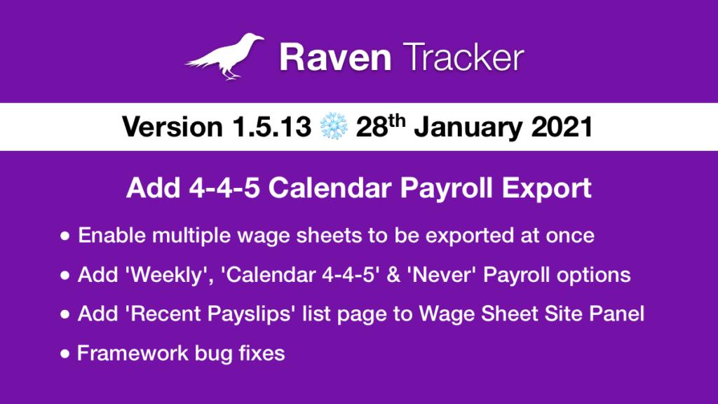 Raven Tracker 1.5.13