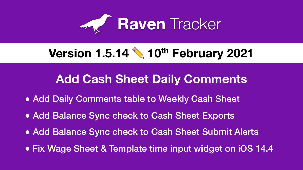 Raven Tracker 1.5.14