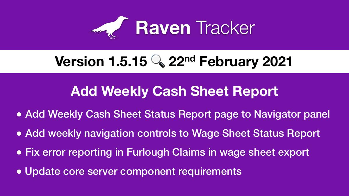 Raven Tracker 1.5.15