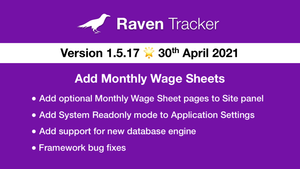Raven Tracker 1.5.17