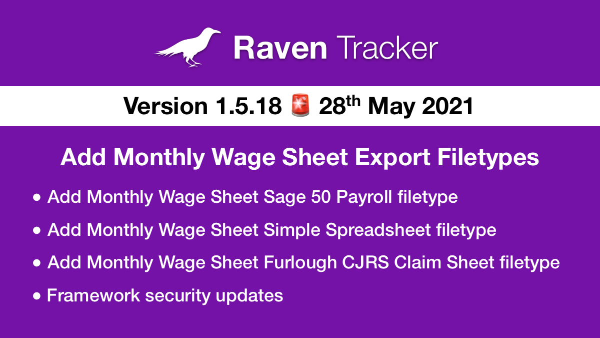 Raven Tracker 1.5.18