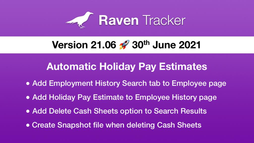 Raven Tracker 21.06