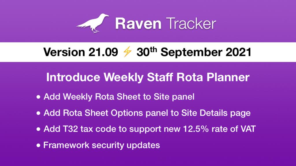 Raven Tracker 21.09